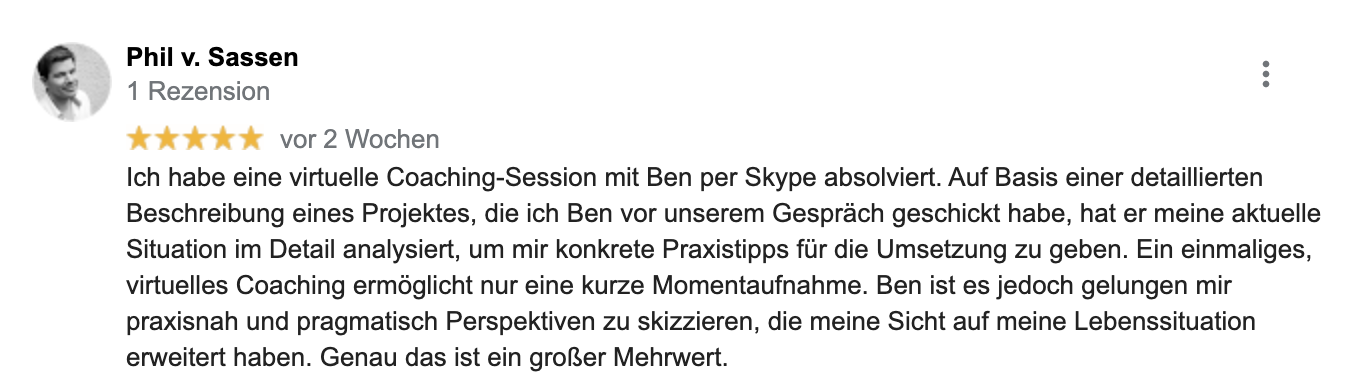 Rezension Phil